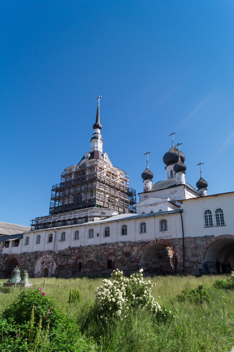 Соловецкий монастырь. Спасо - Преображенский собор.