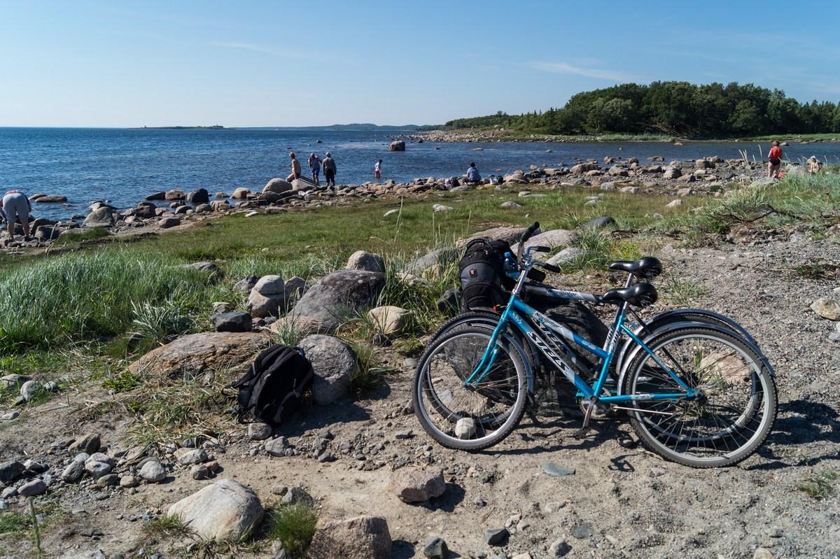 На Большом Соловецком острове. На берегу Белого моря у Лабиринта.