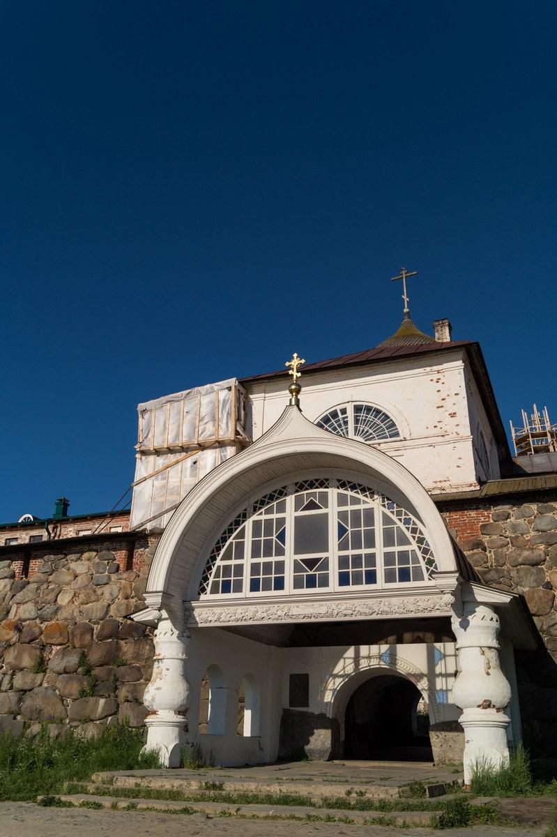 Соловецкий монастырь. Святые ворота.