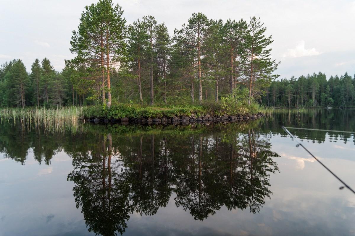 Карелия. Шуезеро. Еще маленький островок.