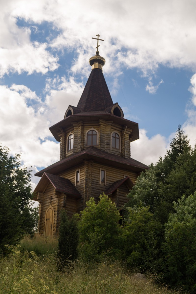 Карелия. Шуезеро. Церковь Илии Пророка.