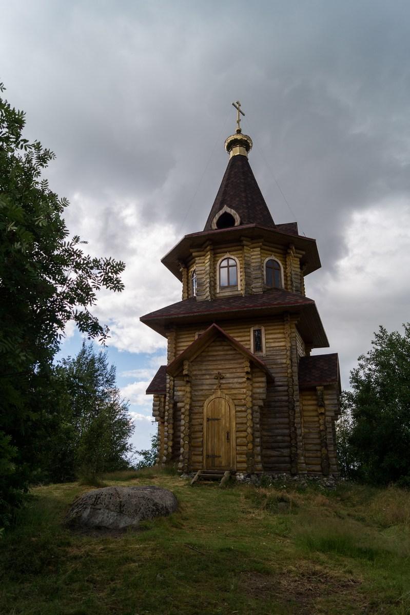 Карелия. Шуезеро. Церковь Илии Пророка (2006).