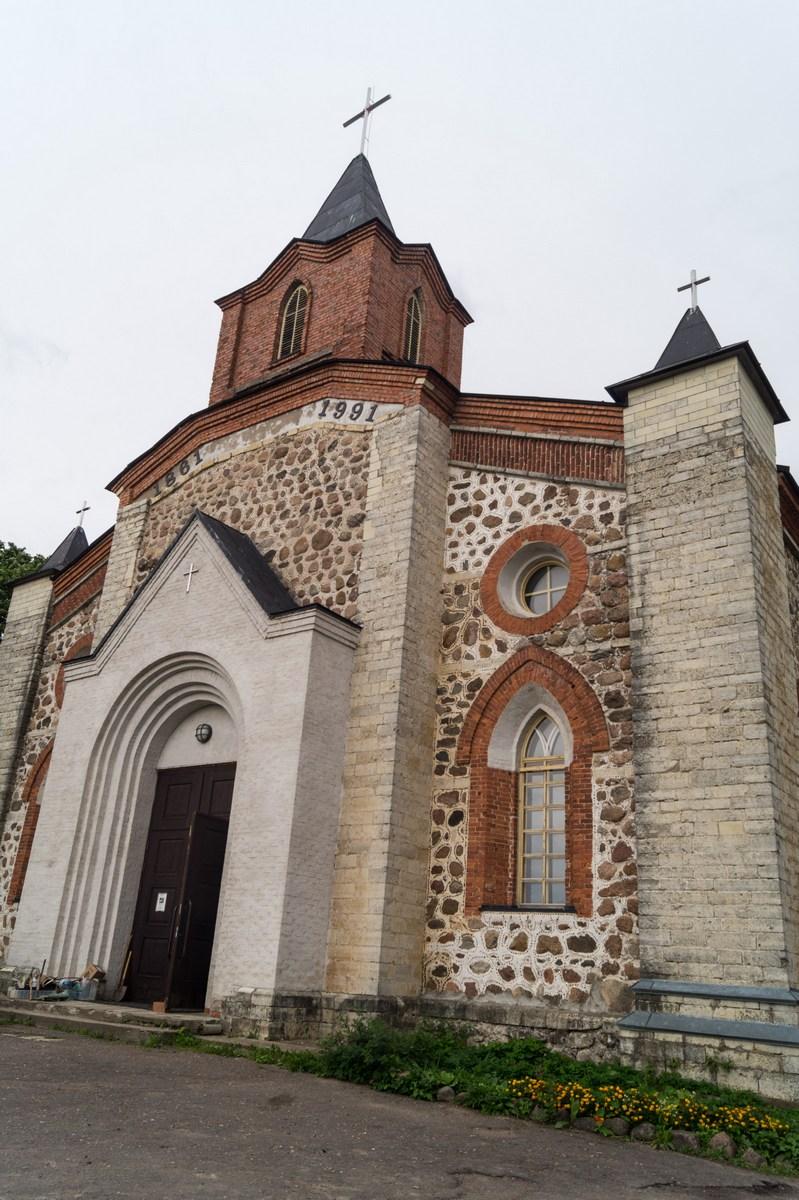 Кирха Святого Иоанна Крестителя в Губаницах.