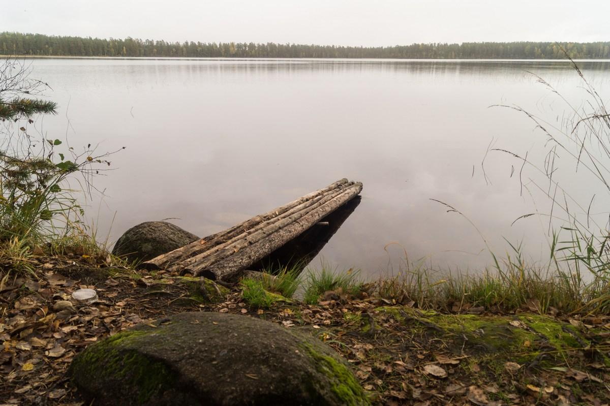 В Кирилловском. Красноперское озеро.