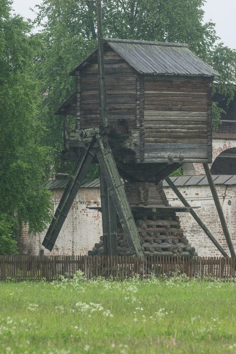 Кирилло-Белозерский монастырь. Ветряная мельница (19 век).