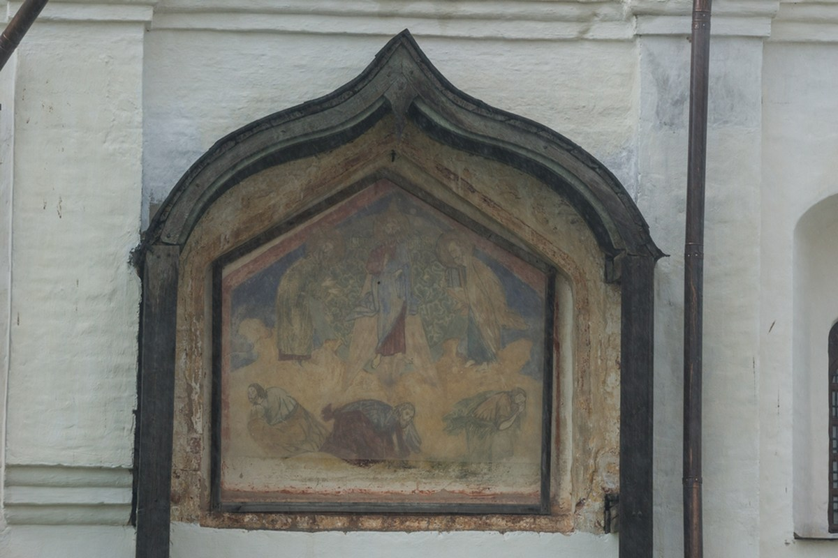 Кирилло-Белозерский монастырь. Водяные ворота с надвратной церковью Преображения. Преображение.
