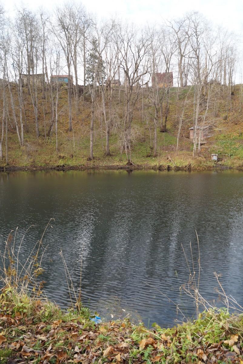 На озере в Лопухинке.