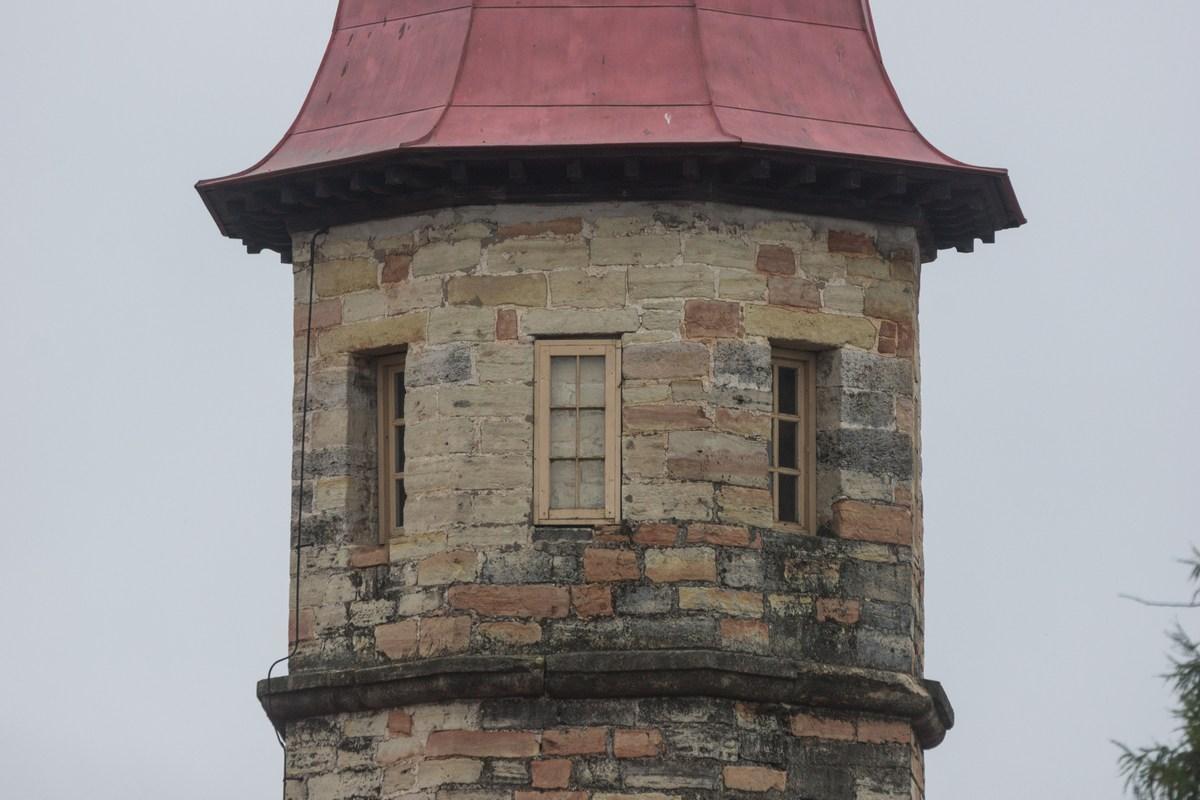 Гатчина. Башня Приоратского дворца.