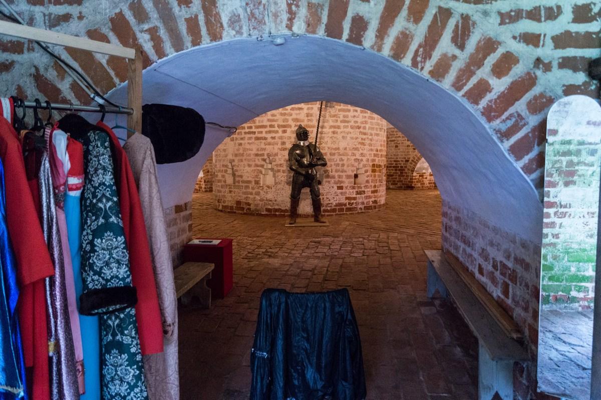 Кирилло-Белозерский монастырь. В Вологодской башне. Одна из экспозиций.