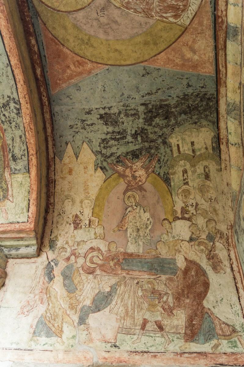 Стенопись Святых ворот Кирилло-Белозерского монастыря.
