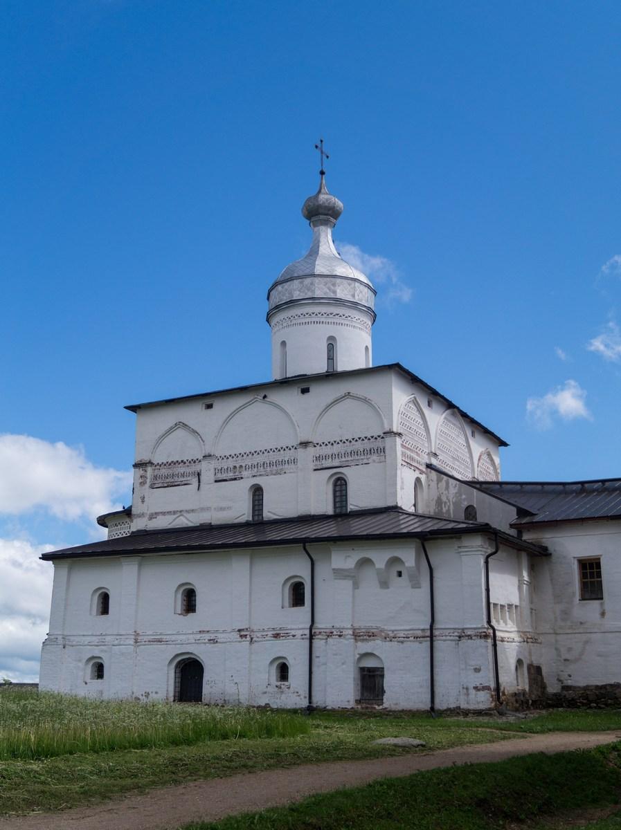 Ферапонтов монастырь. Рождественская церковь.