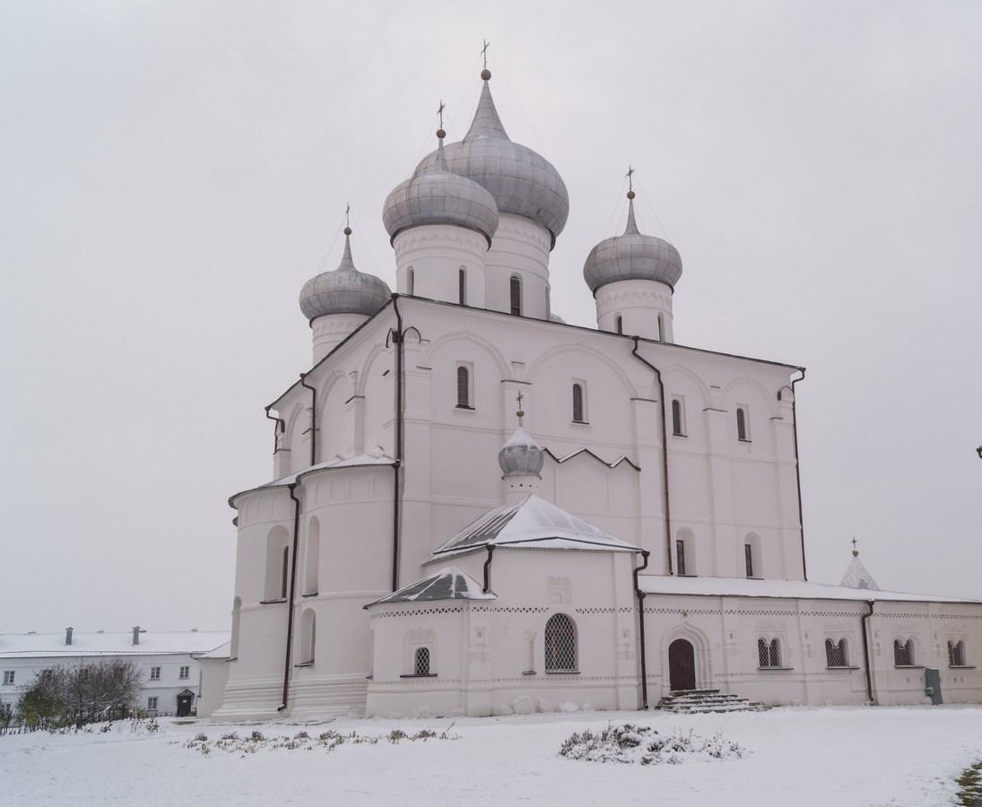 Варлаамо-Хутынский монастырь. Спасо-Преображенский собор.
