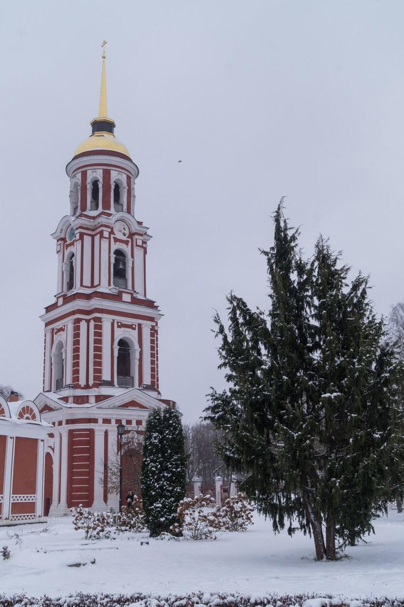 Старая Русса. Колокольня Воскресенского собора.