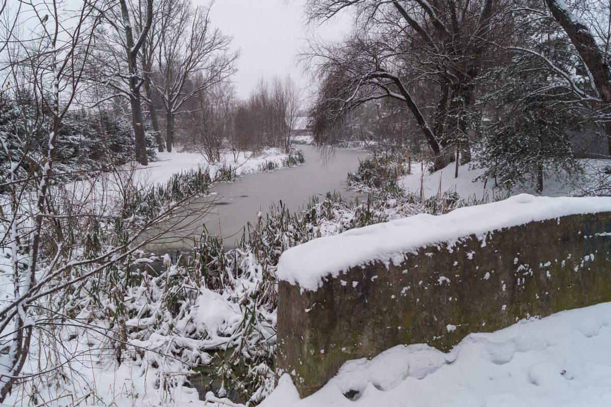 Старая Русса. На реке Малашке.