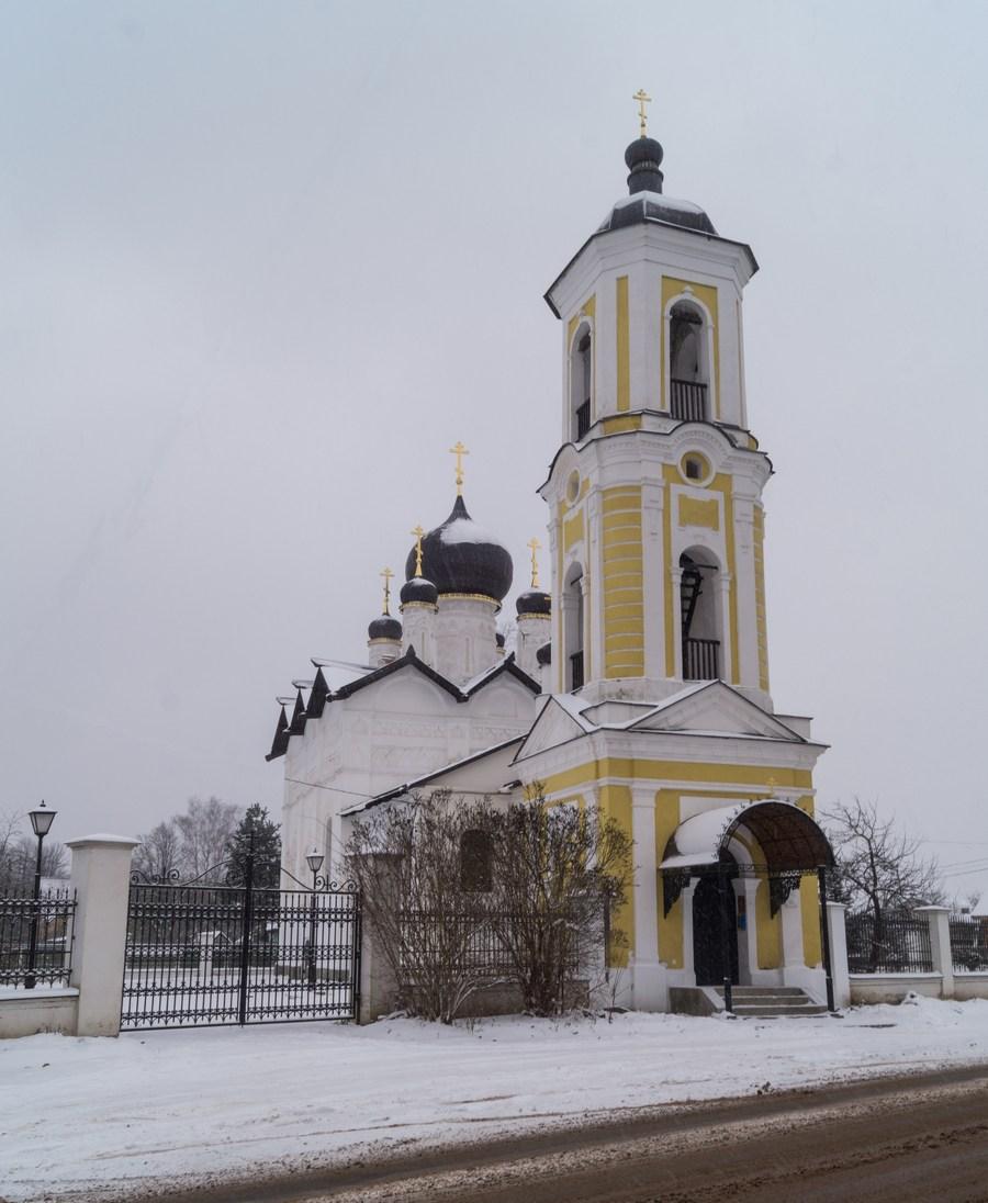 Старая Русса. Церковь Николая Чудотворца (14-18 века).