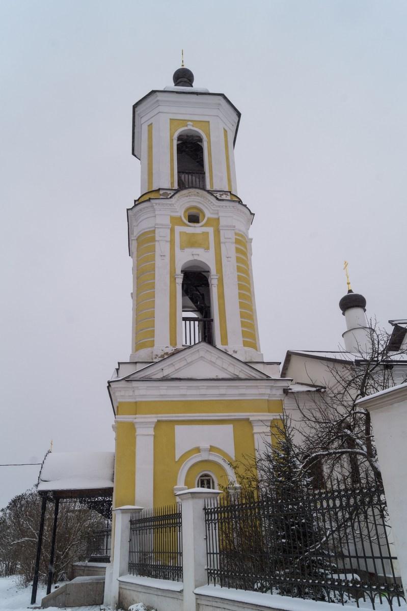 Старая Русса. Никольская церковь. Колокольня.