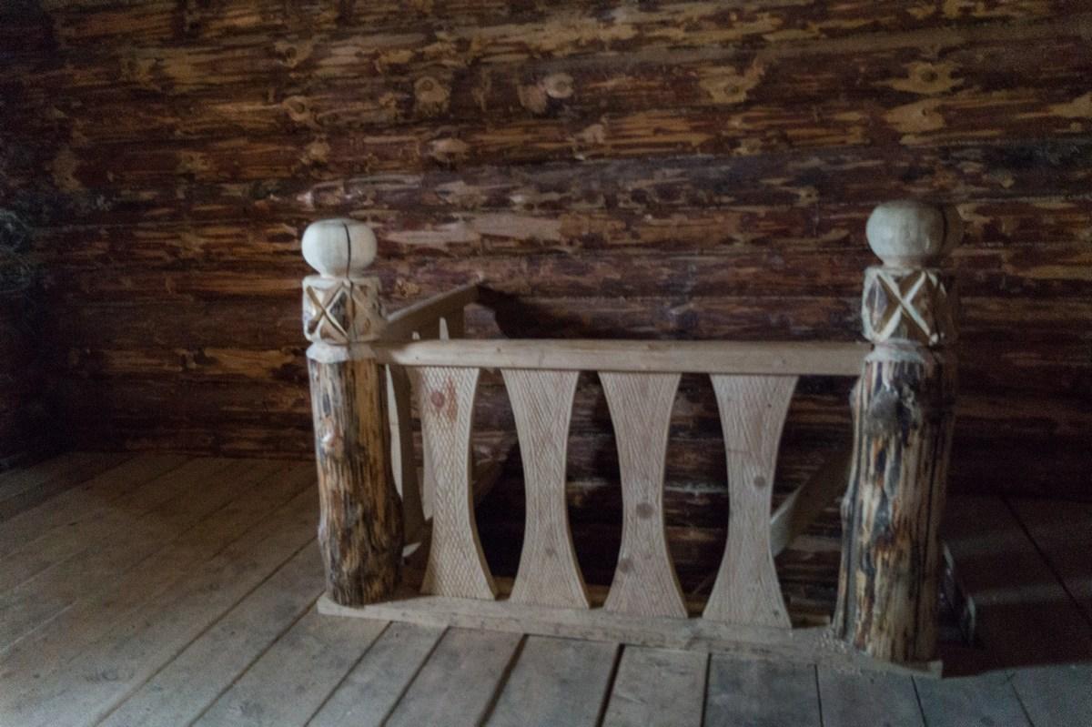 Старая Русса. Усадьба средневекового рушанина. На втором этаже башни.