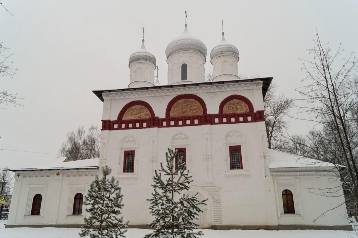 Старая Русса. Троицкая церковь. Ноябрь.