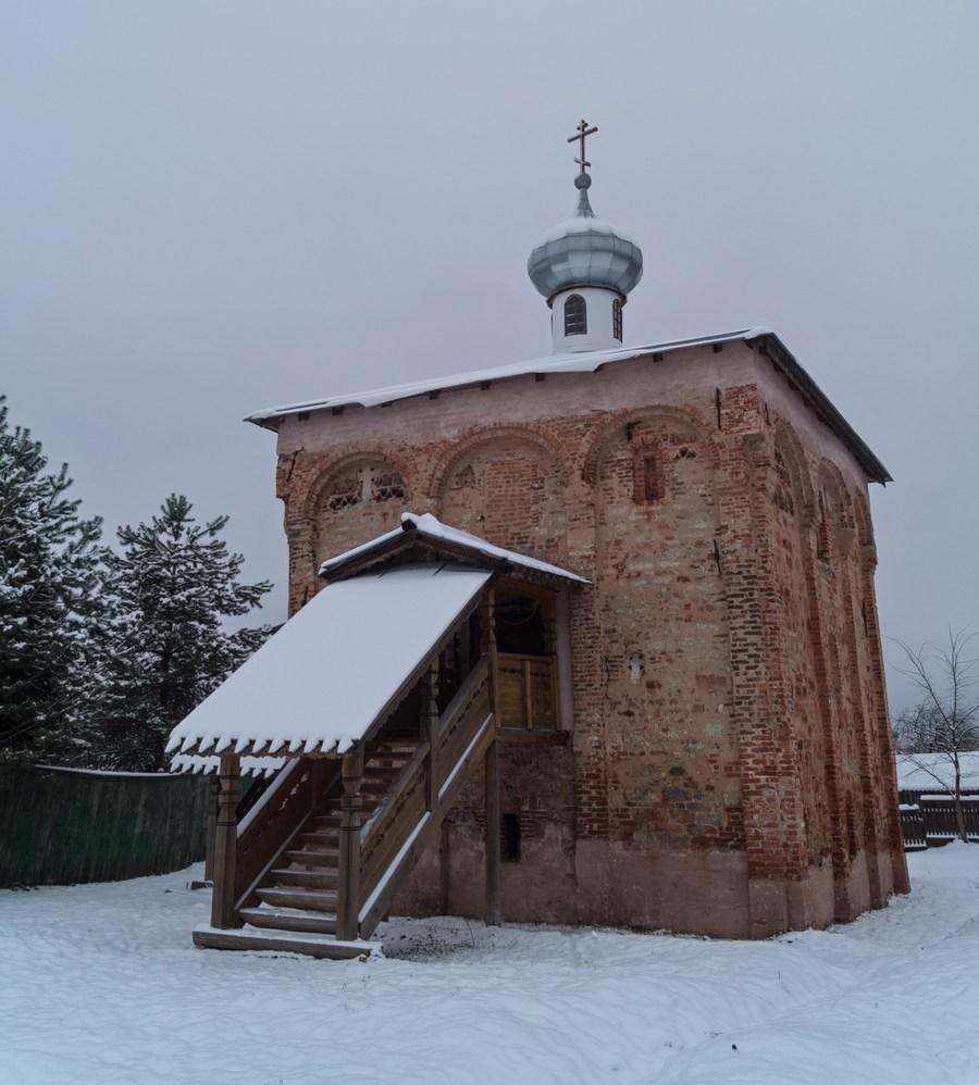 Старая Русса. Церковь Святого Великомученика Мины.