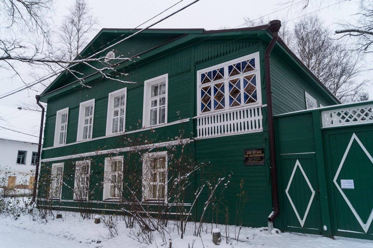 Старая Русса. Дом-музей Достоевского. Наб. Достоевского, 42.
