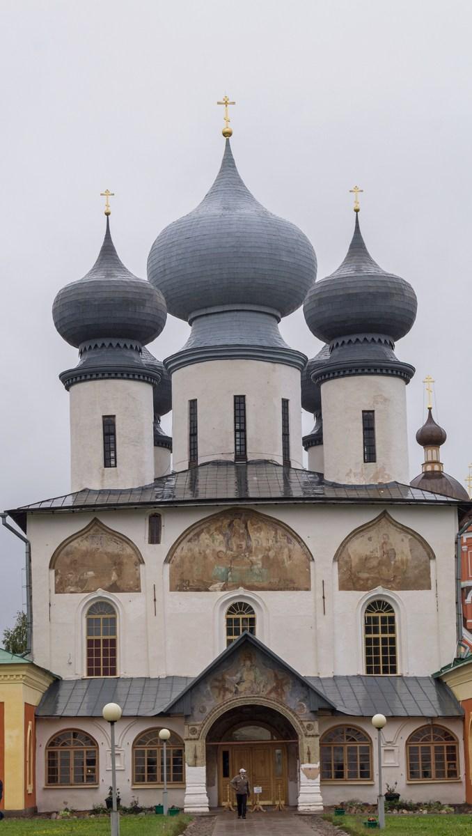 Тихвинский Успенский монастырь. Собор Успения Пресвятой Богоматери