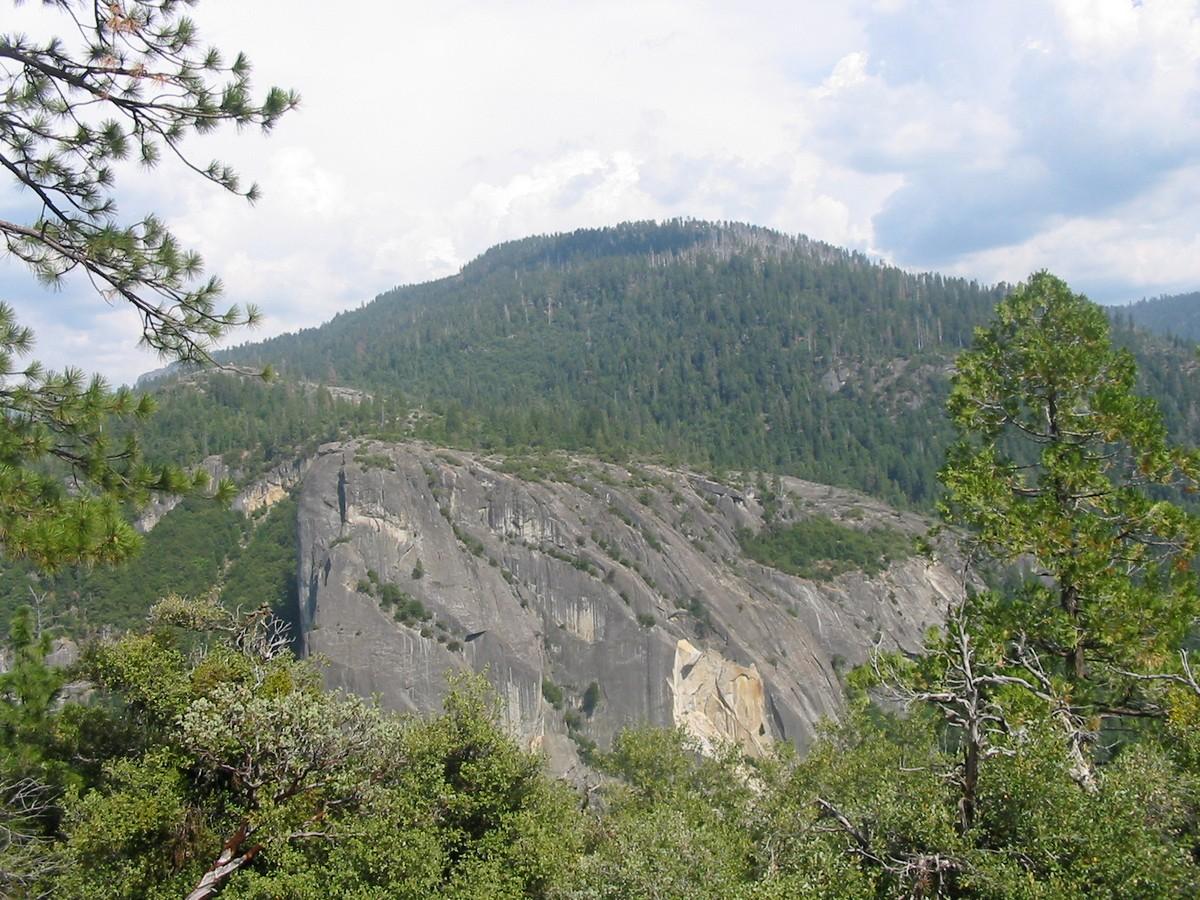 Калифорния. Сьерра-Невада. Древняя скала.