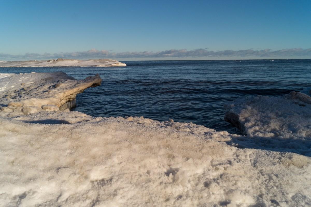 Ладожское озеро. Январь-2017.