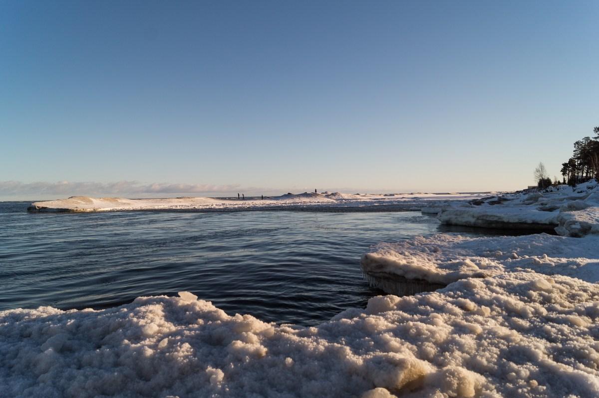 На берегу Ладоги.. Январь.