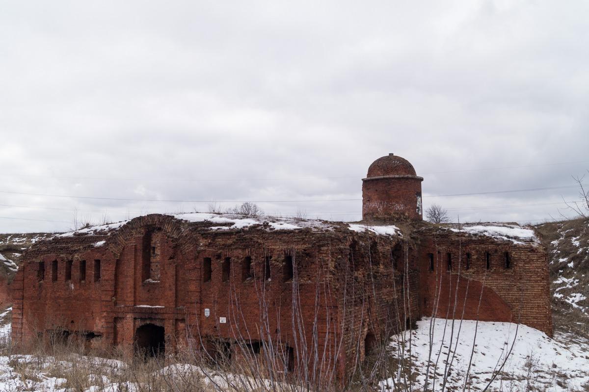Бобруйская крепость. Горжевой редюит.