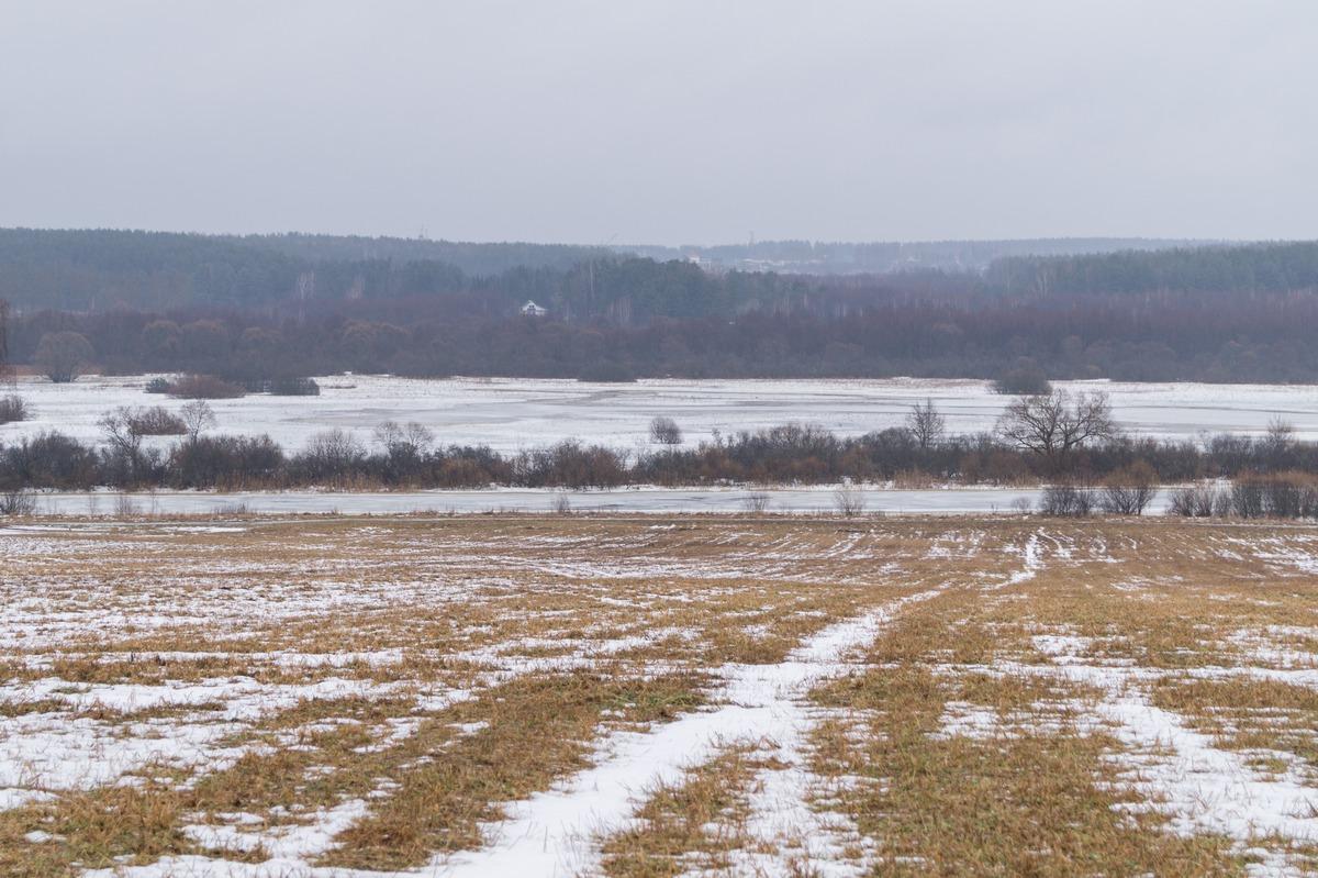 В окрестностях Борисова. Брилевское поле и вид на Березину.