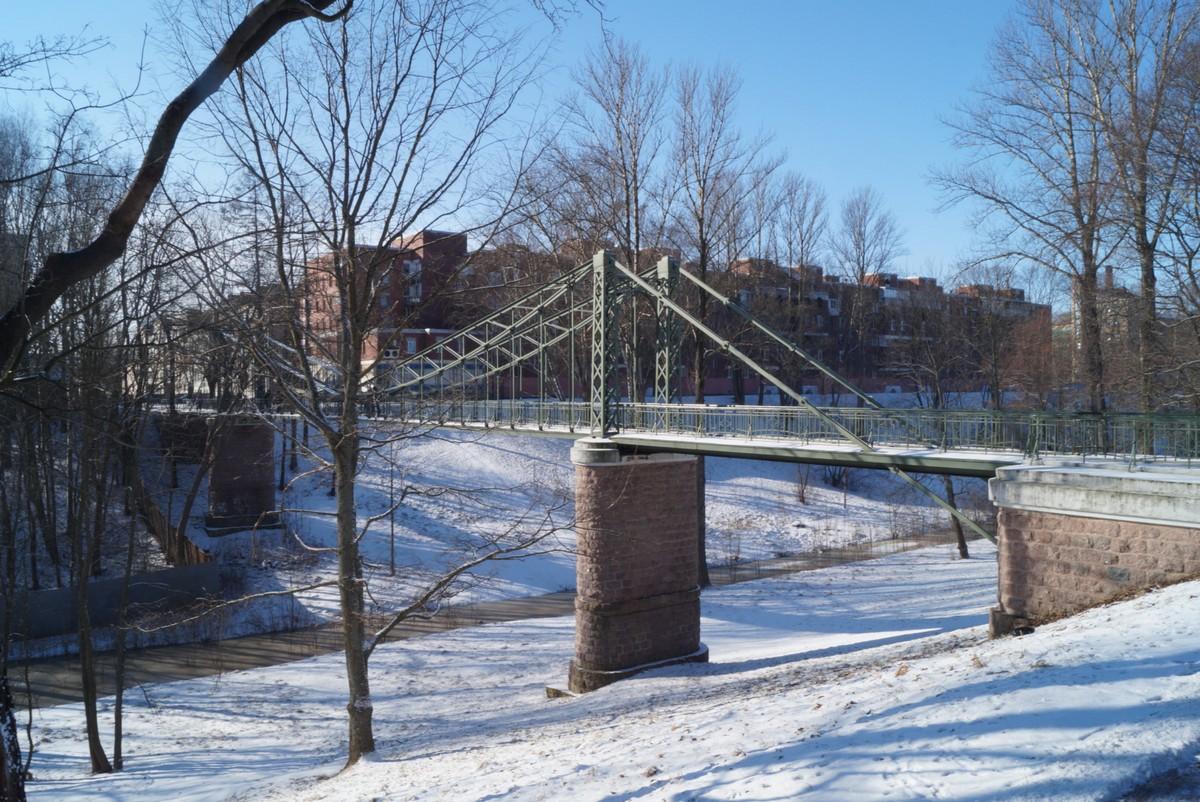 Кронштадт. Макаровский мост.