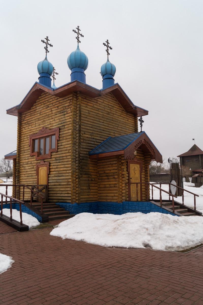 Мозырский замок. Церковь Святого Спаса.