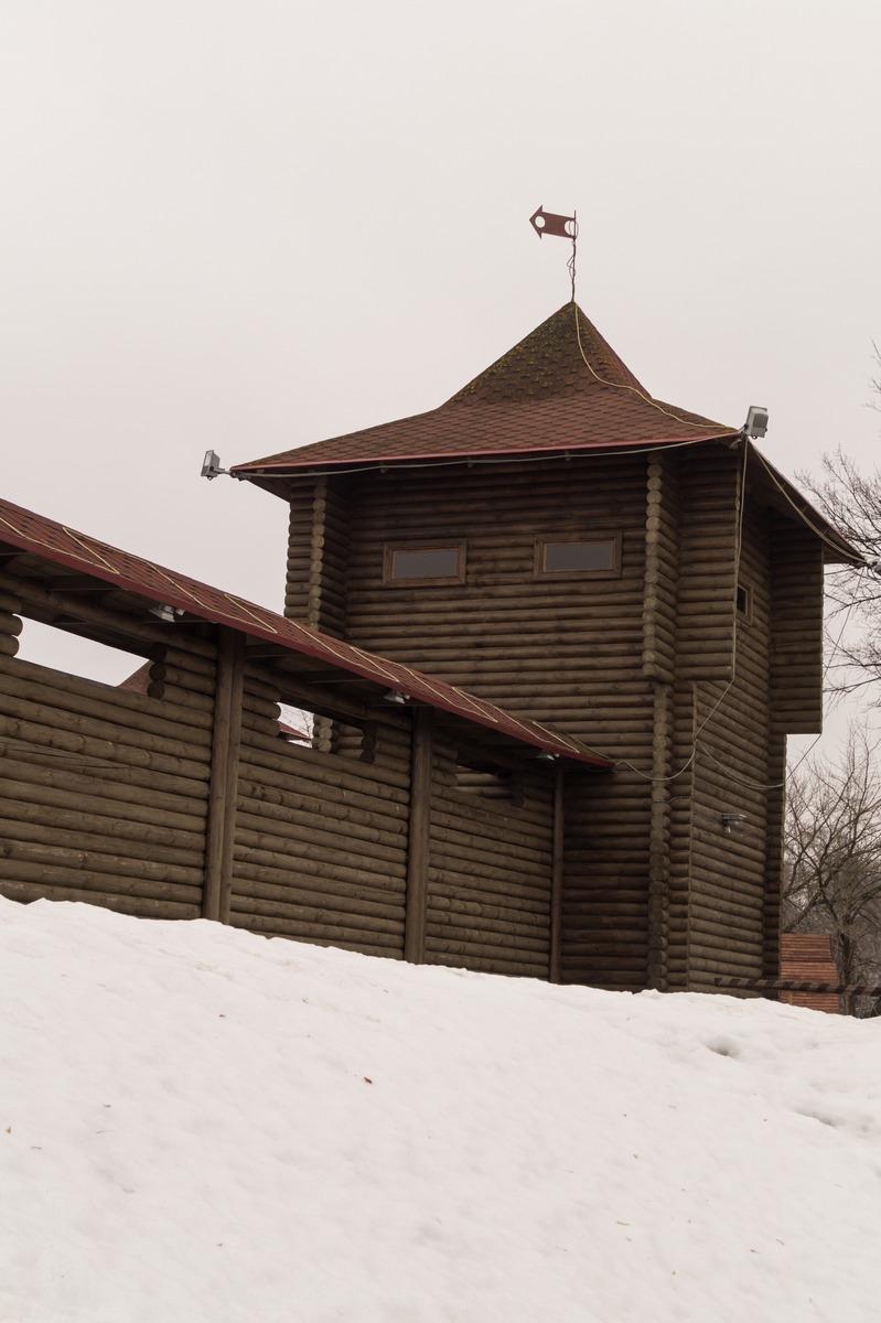 Мозырский замок. Охотничья башня.