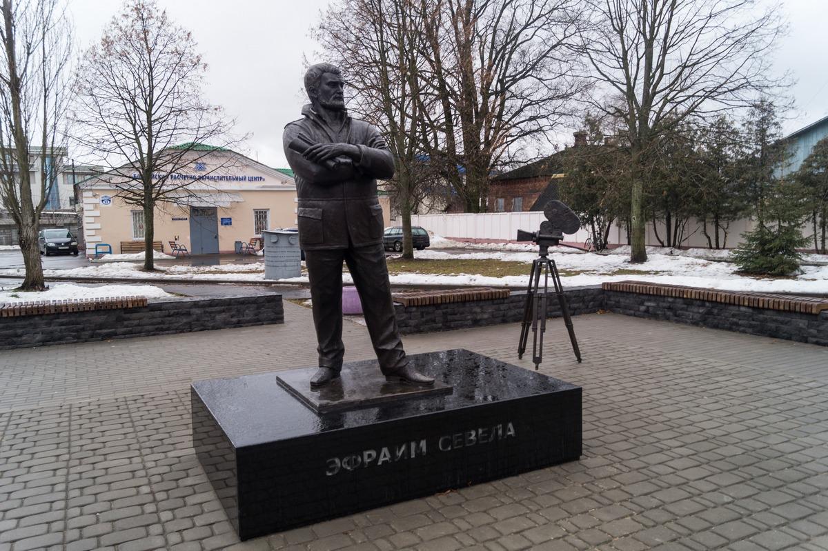 Бобруйск. Памятник Эфраиму Севеле.