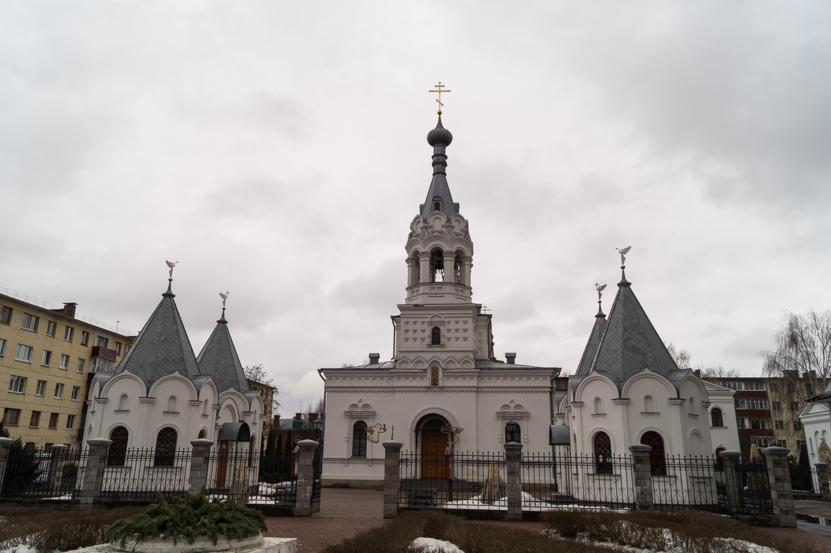Бобруйск. Свято-Георгиевский храм.