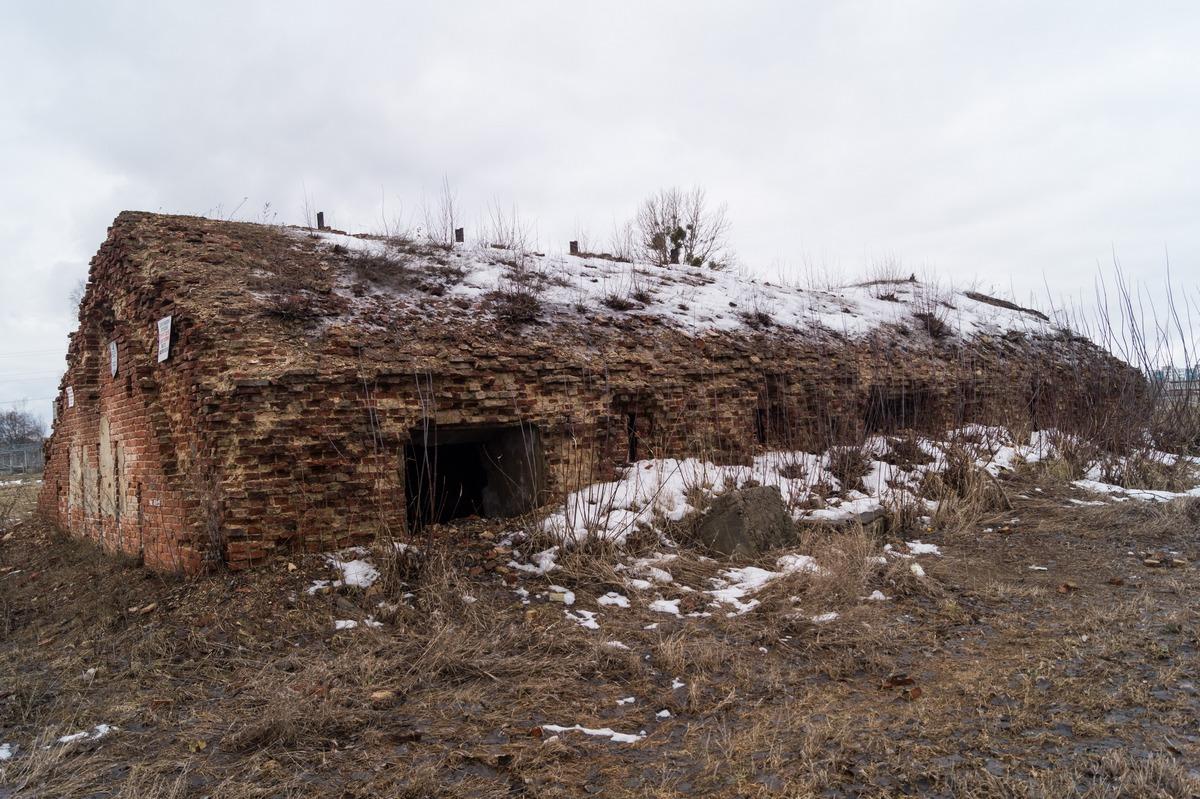 Бобруйская крепость. Одно из сохранившихся строений.