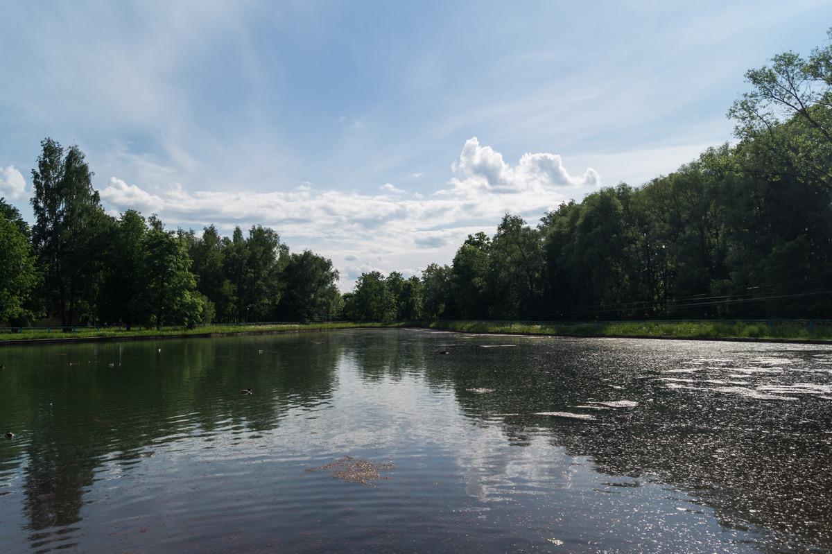 Курорт Старая Русса. Верхнее озеро. Июнь.