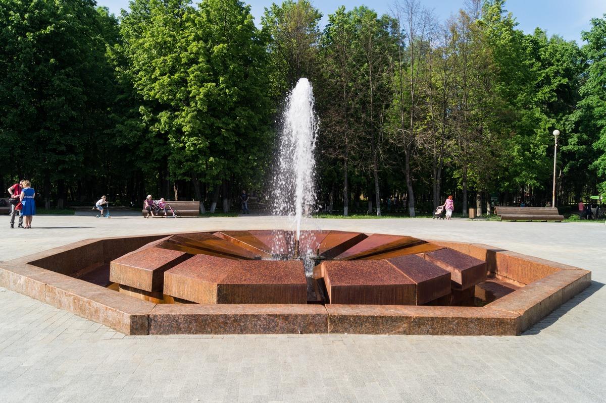 Курорт Старая Русса. Муравьевский фонтан.