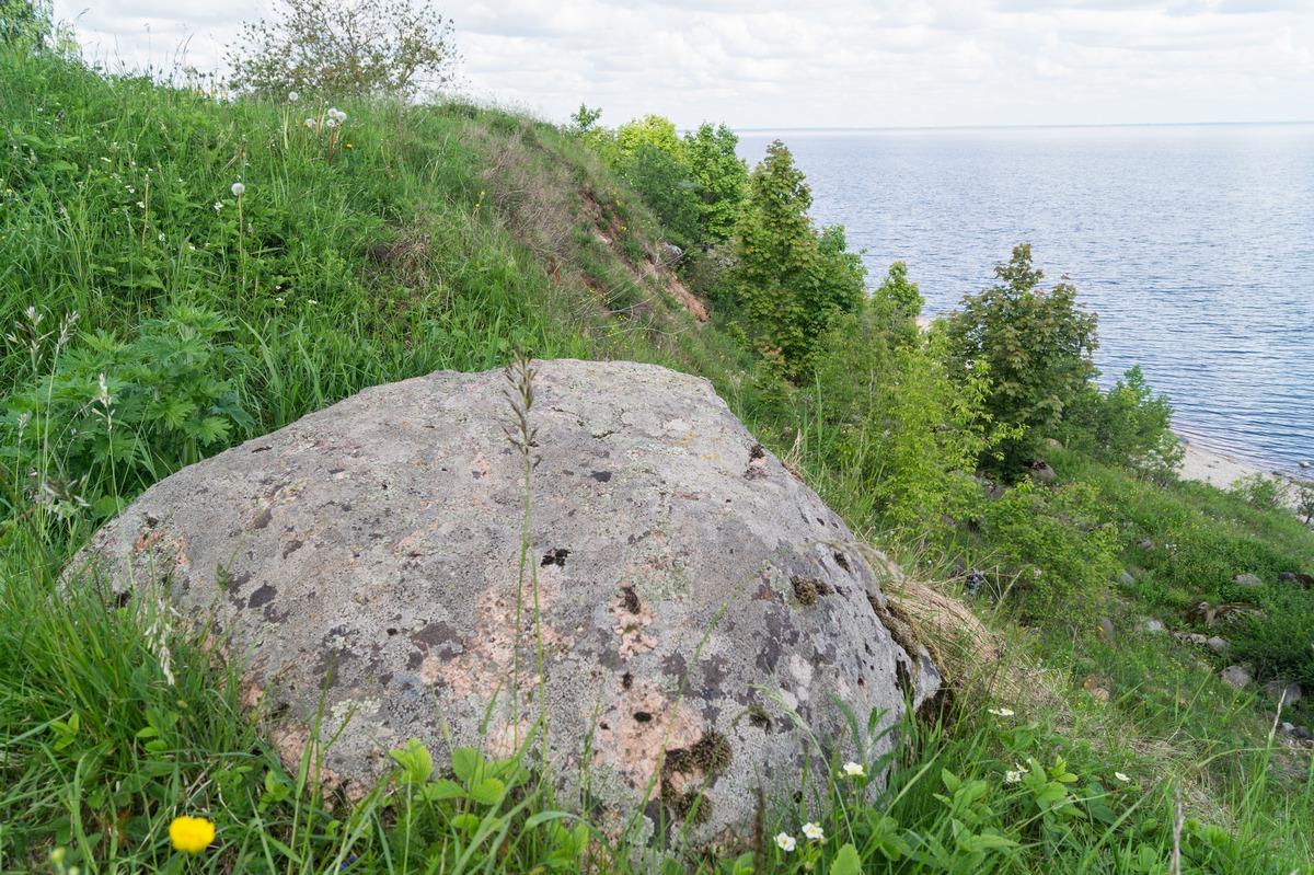 Коростынь. Начало Ильменского глинта.