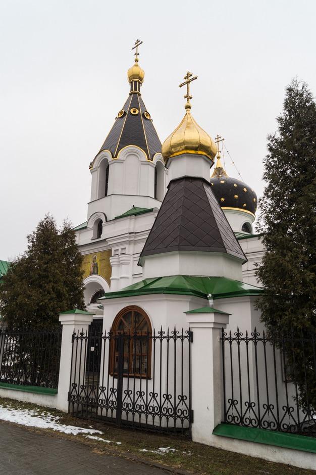 Минск. Церковь Святой Равноапостольной Марии Магдалины.