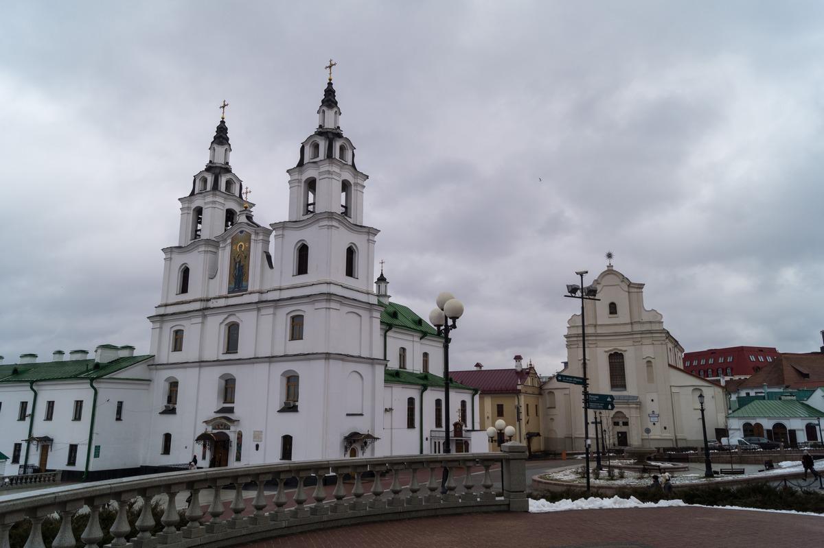 Минск. Верхний Город.