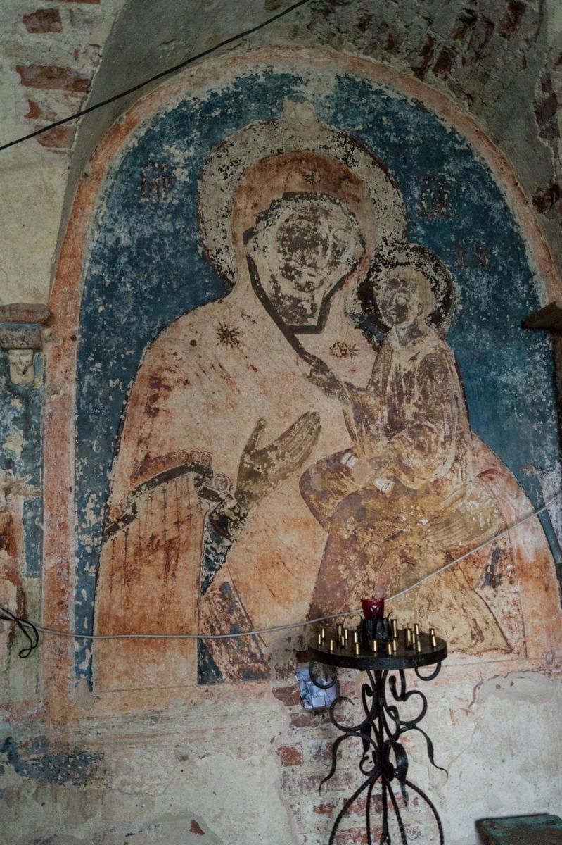 Михайло-Клопский монастырь. Фрески в Троицком соборе.