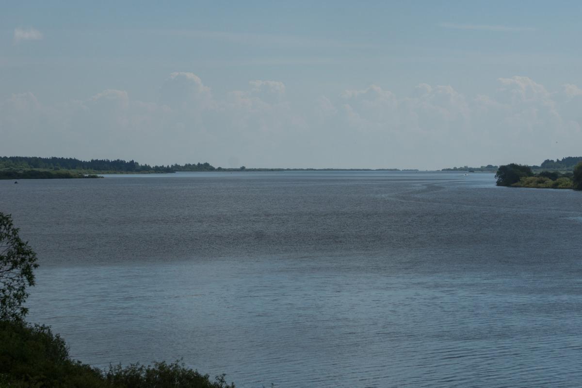 Шимск. Река Шелонь.