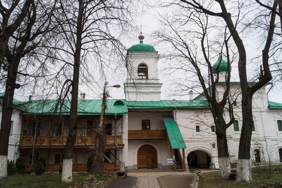 Псков. Мирожский монастырь. Стефановская церковь.