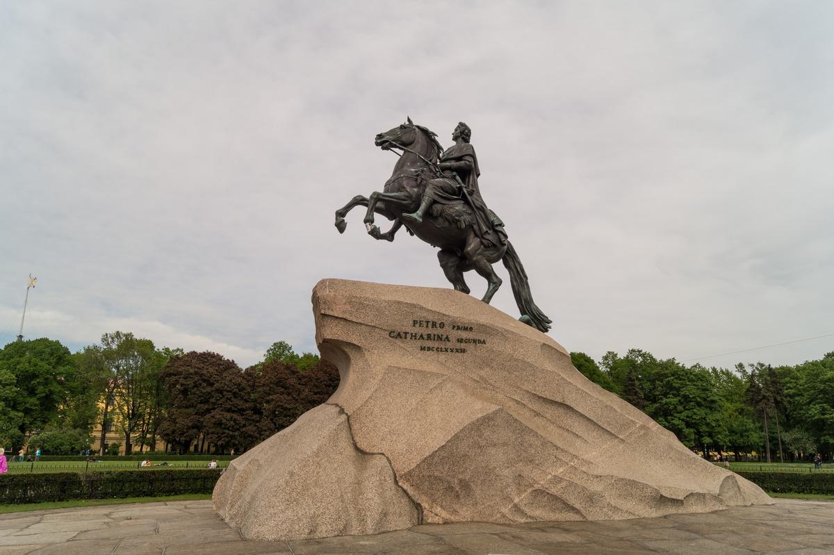 Санкт-Петербург. Памятник Петру I на Сенатской площади.