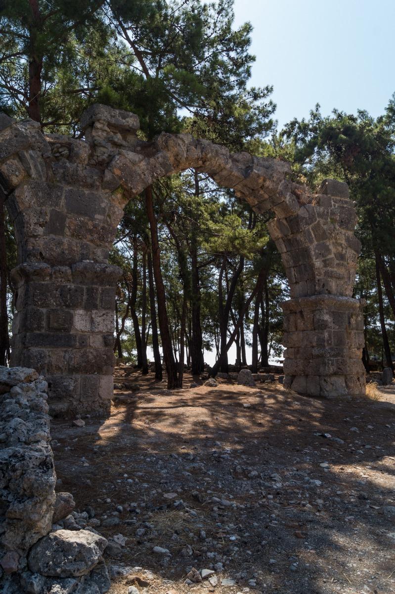 Часть акведука Фазелиса.