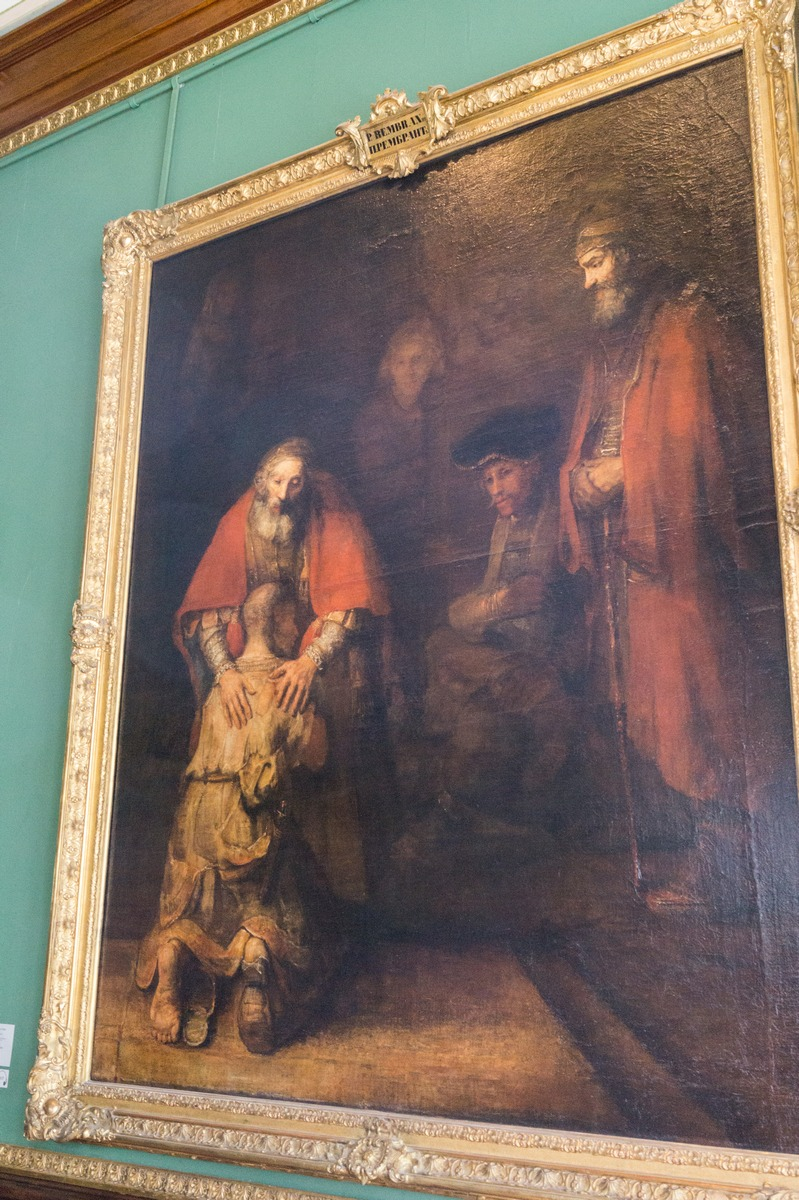 Государственный Эрмитаж. Рембрандт. Возвращение блудного сына.