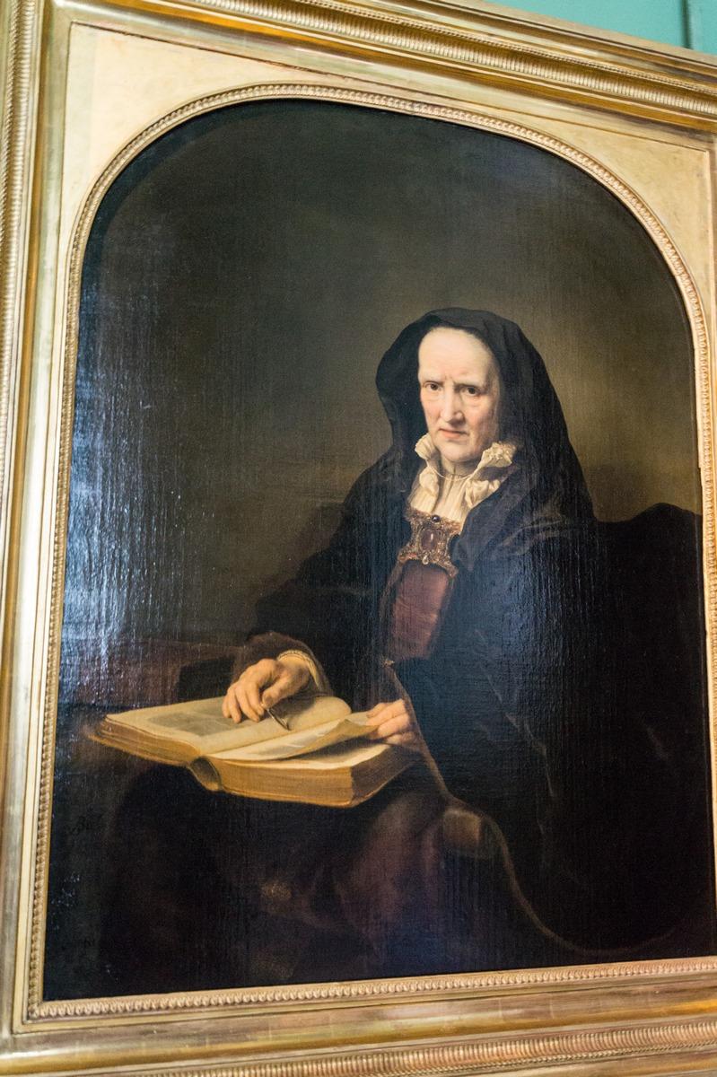 Государственный Эрмитаж. Фердинанд Боль. Старая женщина с книгой.