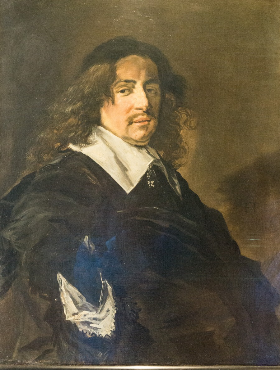 Государственный Эрмитаж. Франс Халс. Мужской портрет. 1666.