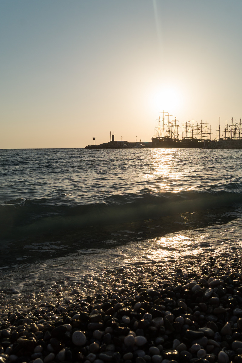 Кемер. Рано утром у моря.